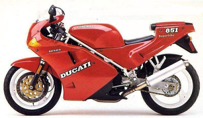 Ducati 851 Strada (1989-90)