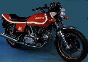 Ducati 900 SD Darmah (1977-78)