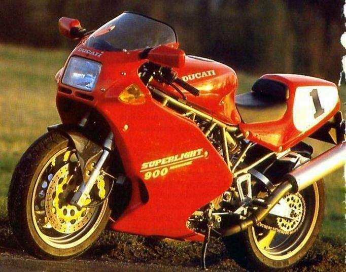 Ducati 900 SL Superlight (1994-95)