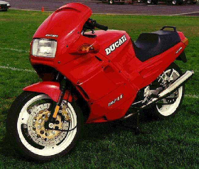 Ducati 907 IE (1991-92)