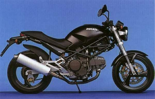 Ducati Monster 900 Dark (2001-02)