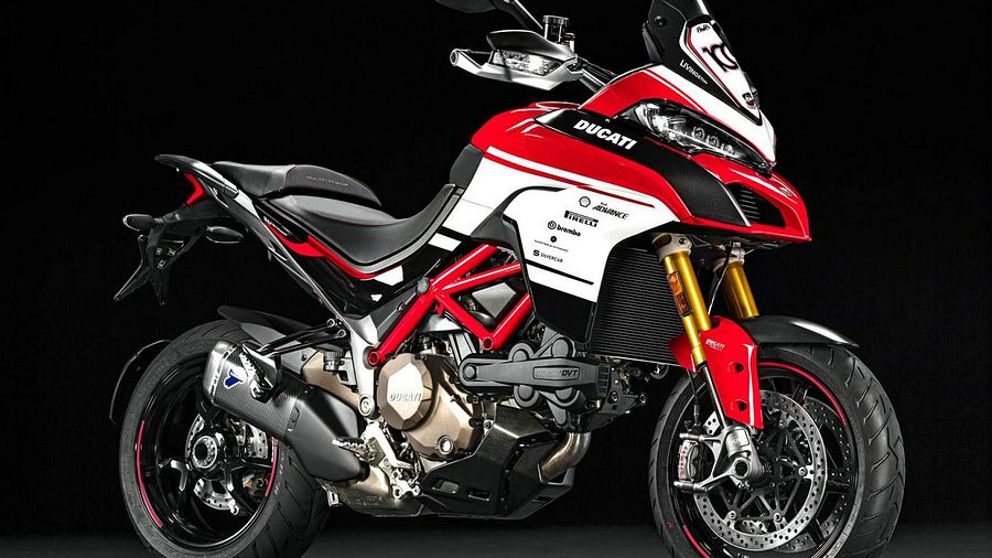 Ducati Multistrada 1200 Pikes Peak 100th Anniversary Limited Edition (2016)