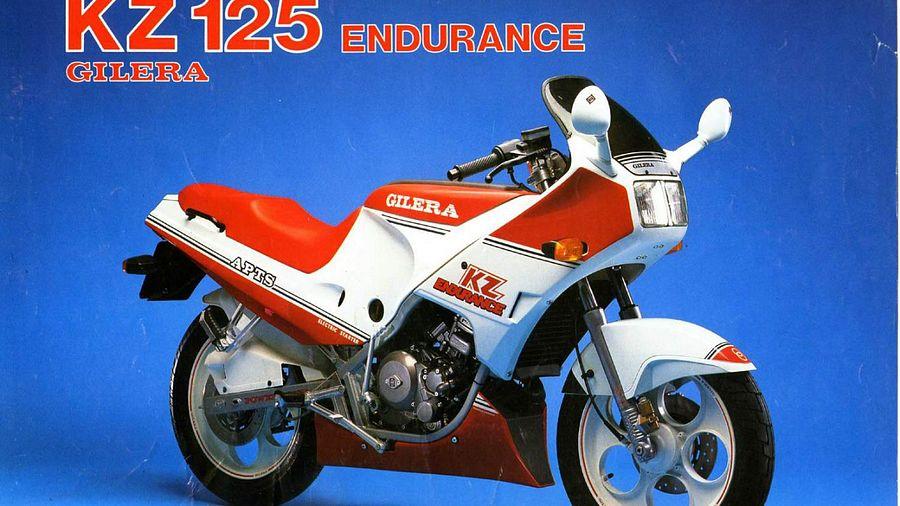 Gilera 125 KZ (1988-89)