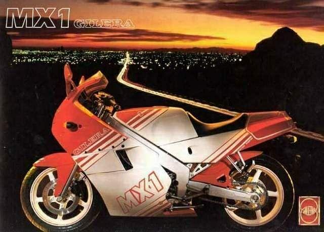 Gilera MX1 125 (1988)
