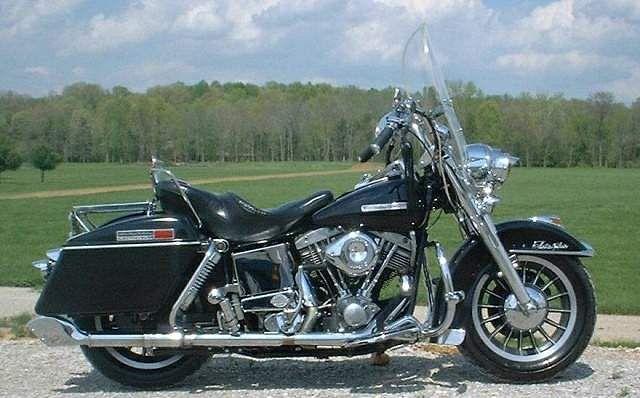 Harley Davidson FLH 1200 Electra Glide (1976-77)