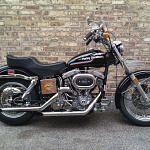 Harley Davidson FLH 1200 Super Glide (1973)