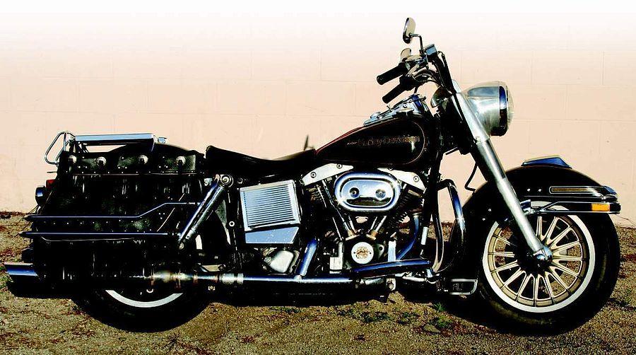 Harley Davidson FLHS 1340 Electra Glide (1977-79)