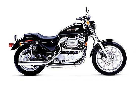 Harley Davidson XL 1200S Sportster Sport (1998-00)