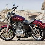 Harley Davidson XL 883L Sportster Super Low (2014)