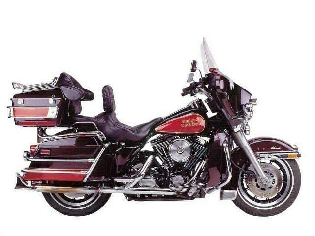 Harley Davidson FLHTC Electra Glide Classic (1999-00)