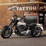 Harley Davidson FLSTFB Softail Fat Boy Lo 110th Anniversary (2013)