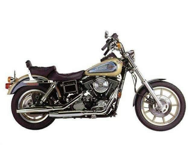 Harley Davidson FXDB Dyna Glide Daytona (1992)