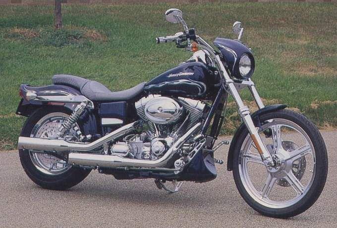 Harley Davidson FXDWGI Dyna Wide Glide (2001-02)