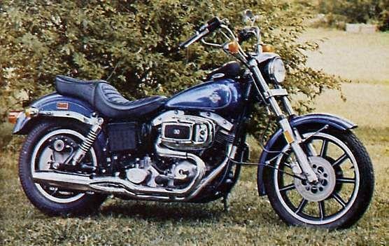 Harley Davidson FXE-F 1200 Fat Bob (1979)