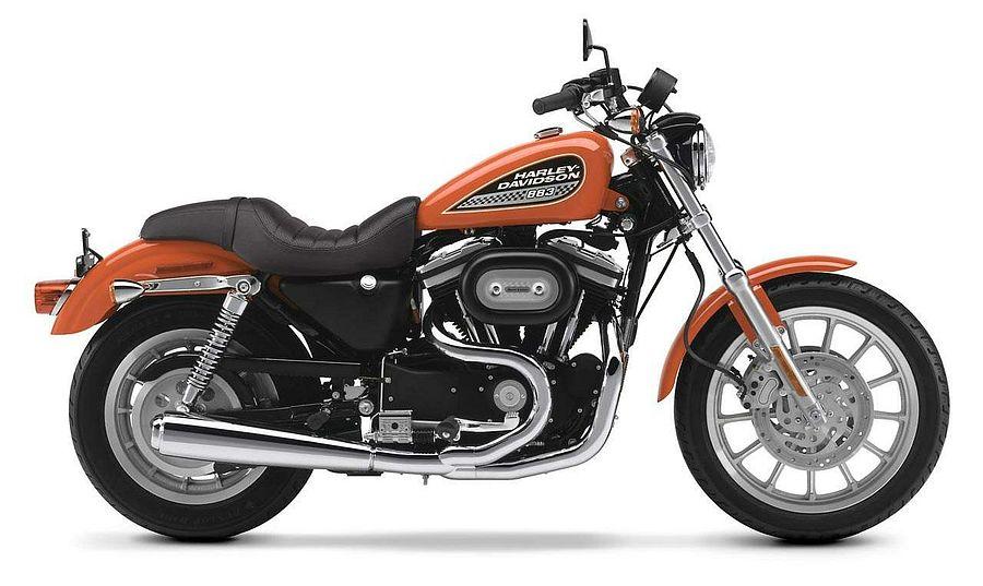 Harley Davidson XL 883R Sportster (2002-03)