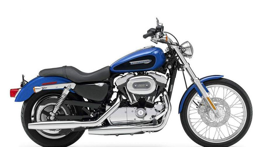 Harley Davidson XL 1200C Sportster Custom (2007-08)