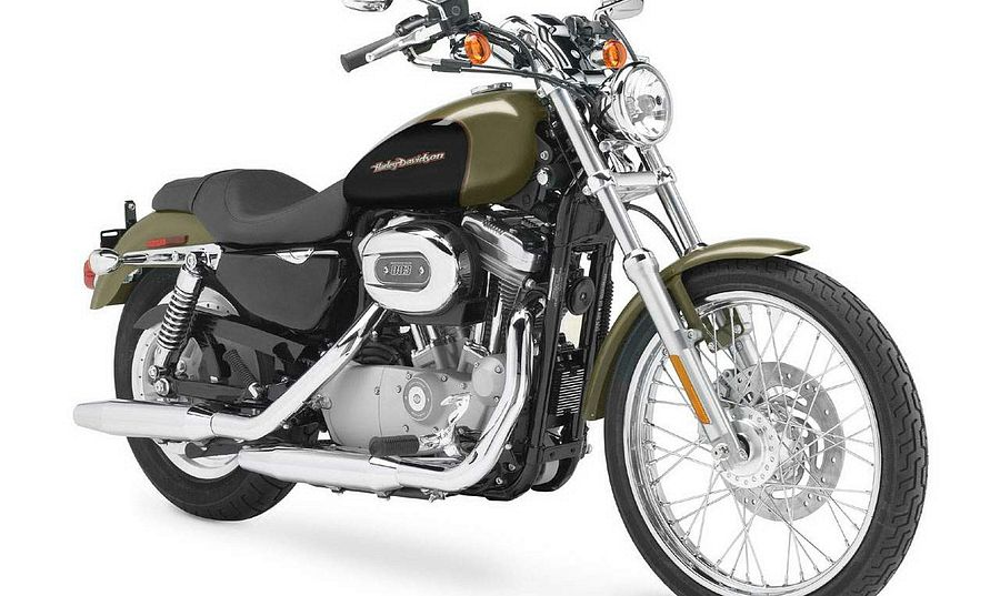 Harley Davidson XL 883C Sportster Custom (2006-07)