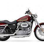 Harley Davidson XL 883C Sportster Custom (2008-09)
