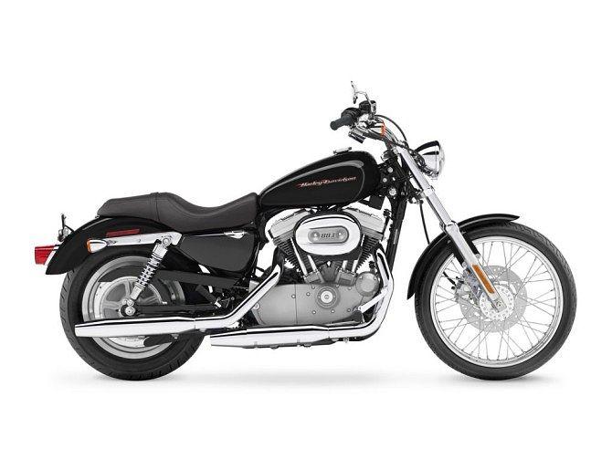 Harley Davidson XL 883C Sportster Custom (1998-99)