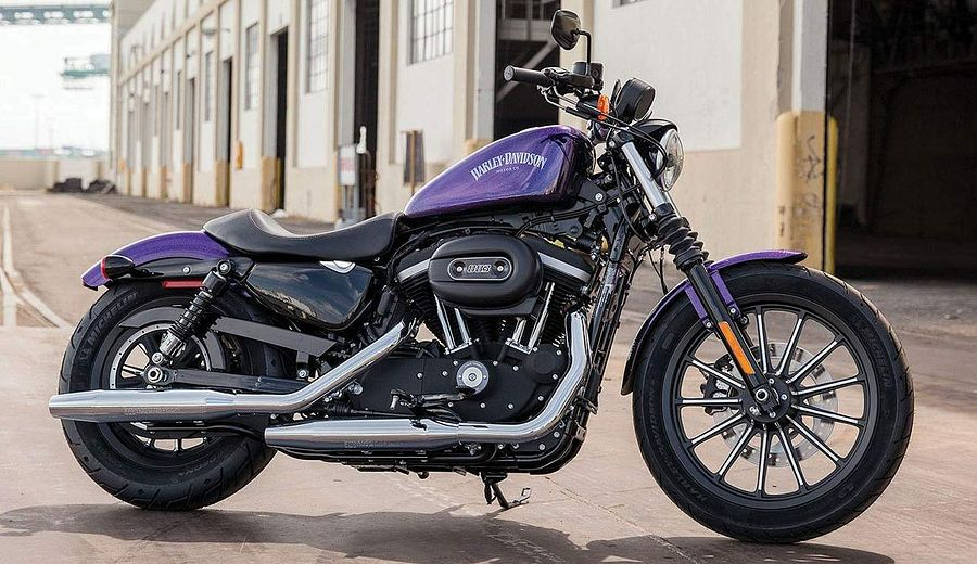 Harley Davidson XL 883N Iron (2014-15)