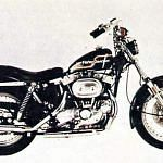 Harley Davidson XLCH 1000 Sportster (1973-75)