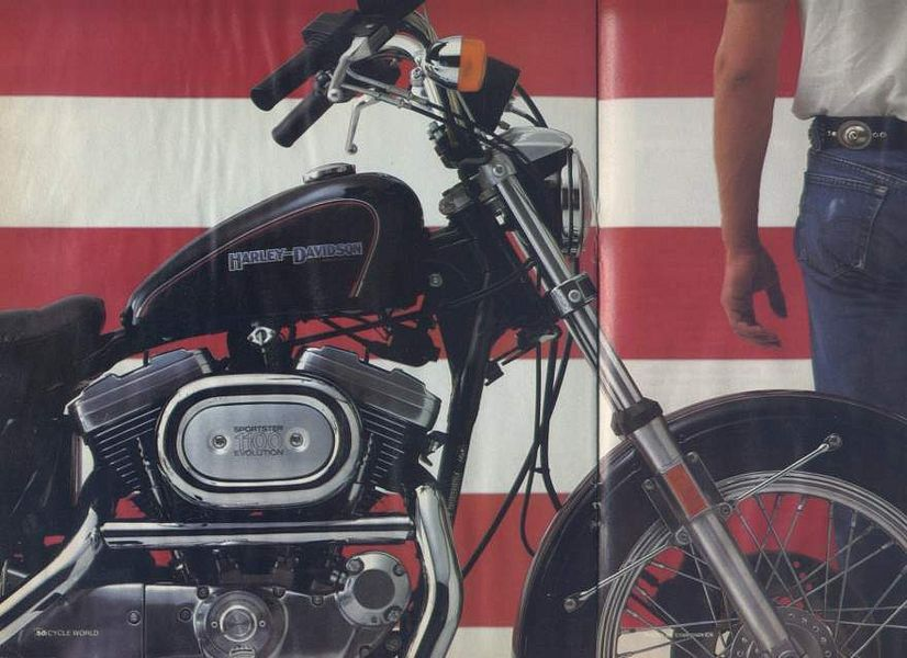 Harley Davidson XLH 1100 Sportster Limited Liberty Edition (1986)
