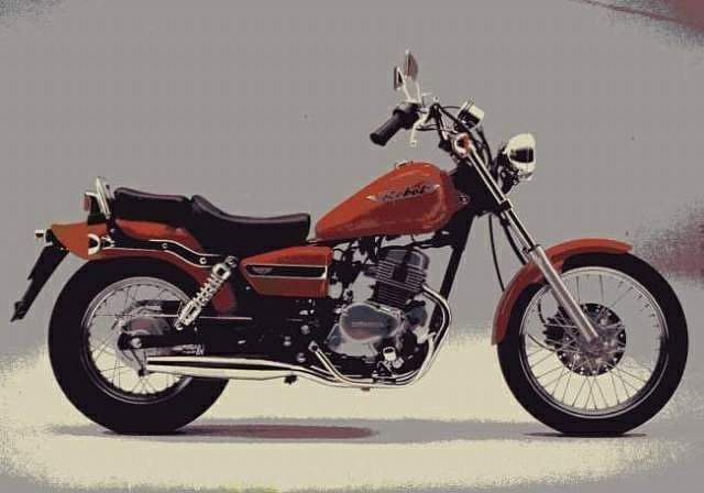 Honda CA125 Rebel (1995)