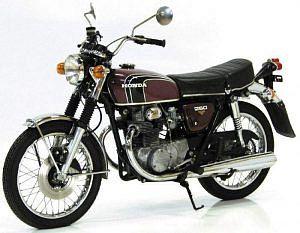 Honda CB250G (1974-75)