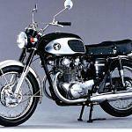 Honda CB 450K Black Bomber (1965-66)