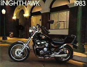 Honda CB550SC Nighthawk (1982)