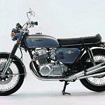 Honda CB750 bike (1968)