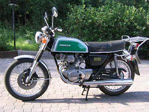 Honda CB125 (1974-75)