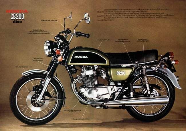 Honda CB200 (1972-74)