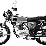 Honda CB350 (1968-69)