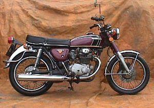 Honda CB350 (1974)