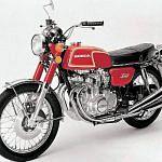 Honda CB350 (1972-73)