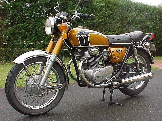 Honda CB350 (1972)