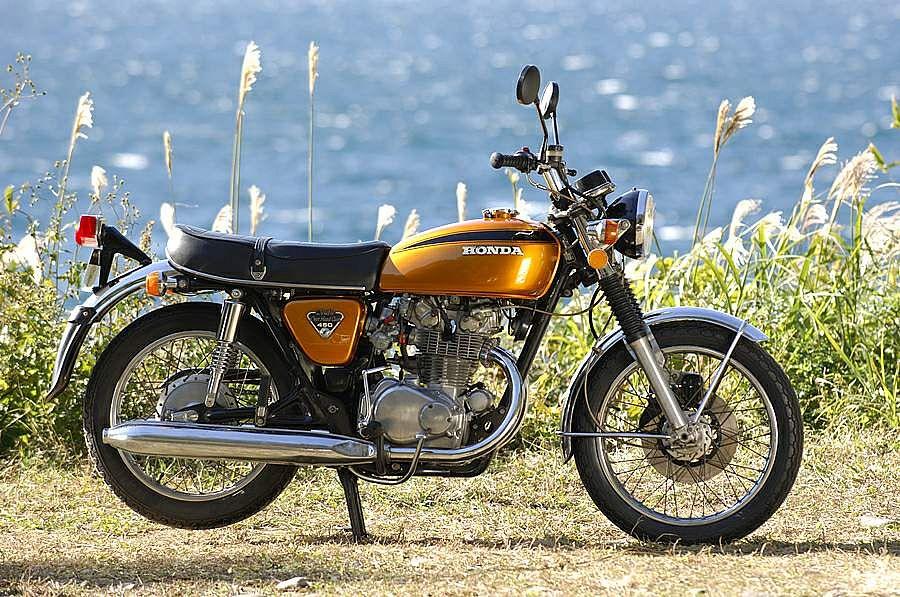 Honda CB450K7 (1971-72)