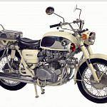 Honda CB450 Police Special (1966)