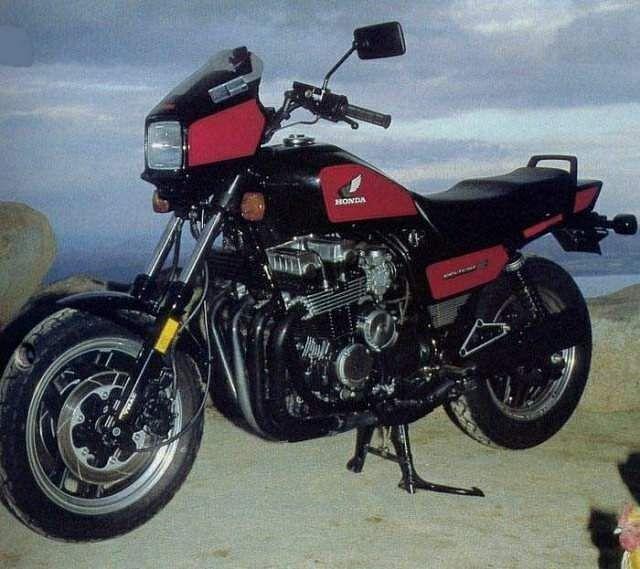 Honda CB 700 Nighthawk S (1984-86)