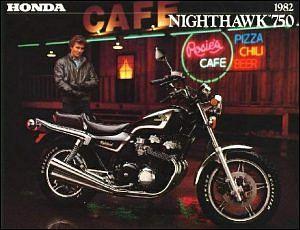 Honda CB 750SC Nighthawk (1982-83)