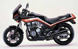 Honda CBX750F (1985-87)