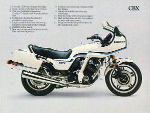 Honda CBX1000 Pro Link (1982)