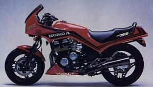 Honda CBX750F (1983-84)