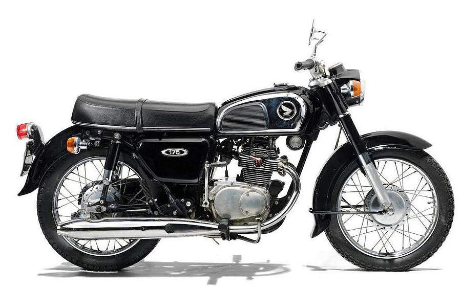 Honda CD175 (1972-75)
