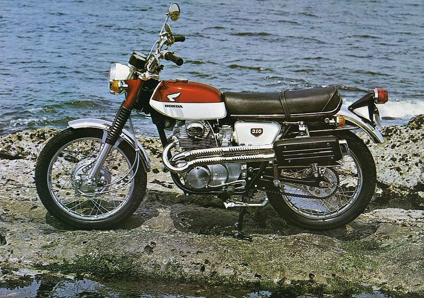 Honda CL 350 (1968-69)