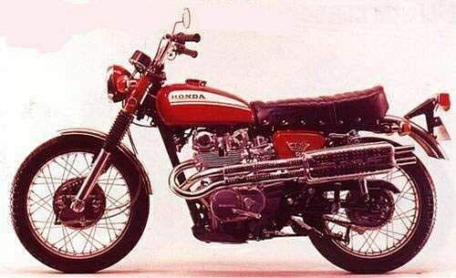 Honda CL450 (1968-74)
