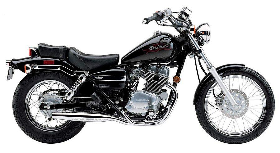 Honda CMX 250 Rebel (2005-06)