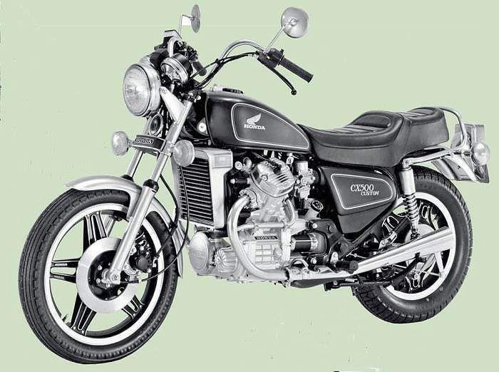 Honda CX500 Custom (1983)