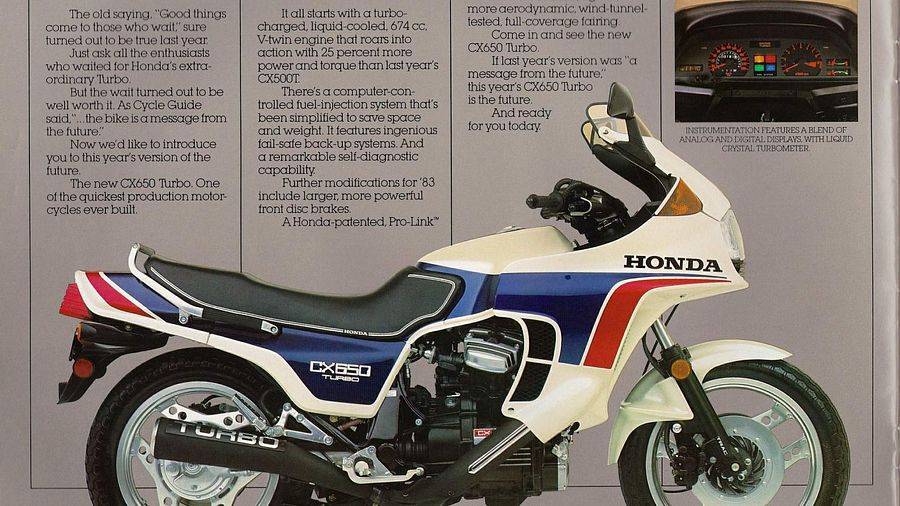 Honda CX500 Turbo (1984)
